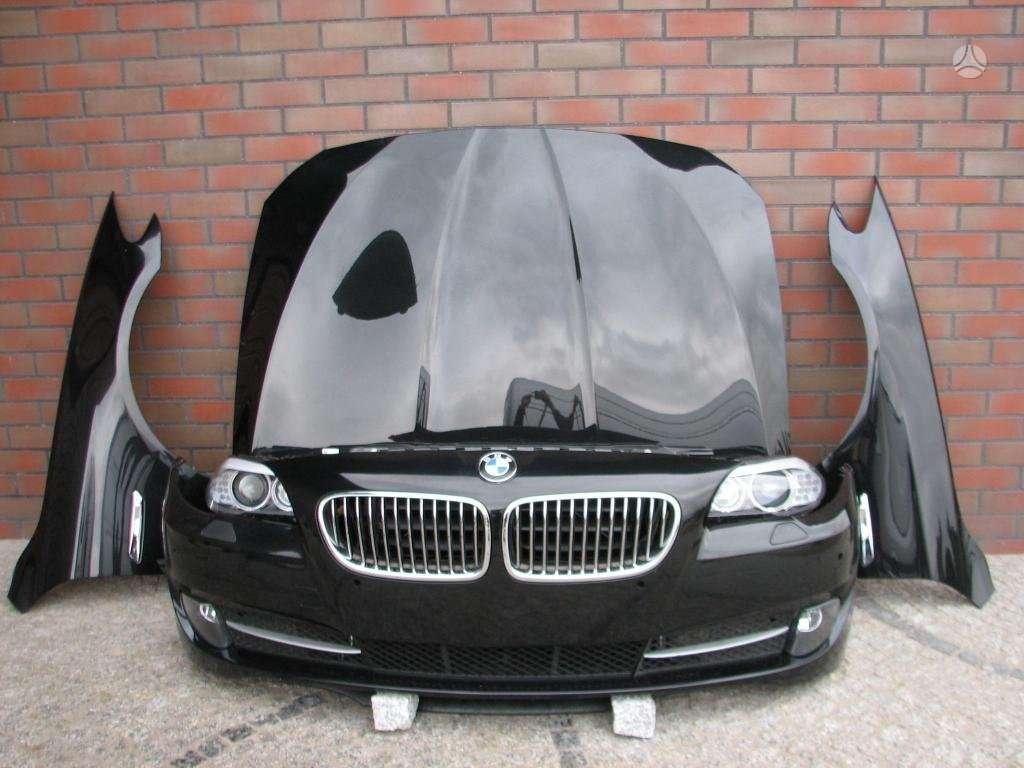 BMW 5 serija. Komplektinis bmw f10 priekis europiniai žibintai,
