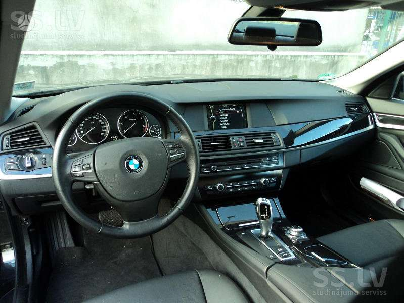 BMW 5 serija. Komplektas vairo perkėlimui iš dešinės i kairę pusę