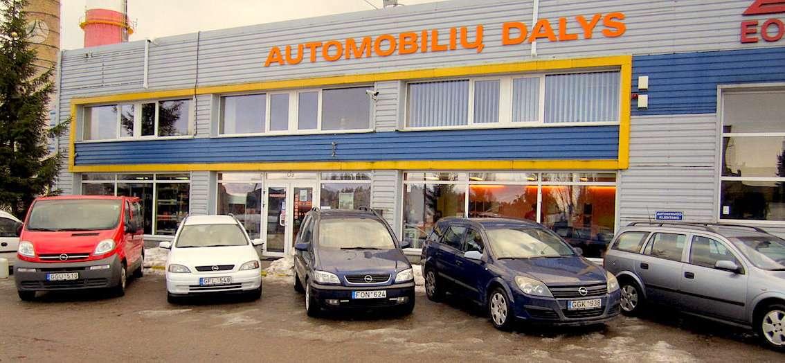 Opel Zafira, 2.0 l., vienatūris