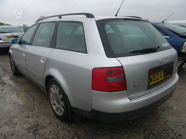 Audi A6 dalimis.  2.4 automatas benzinas,  2.5 tdi automatas