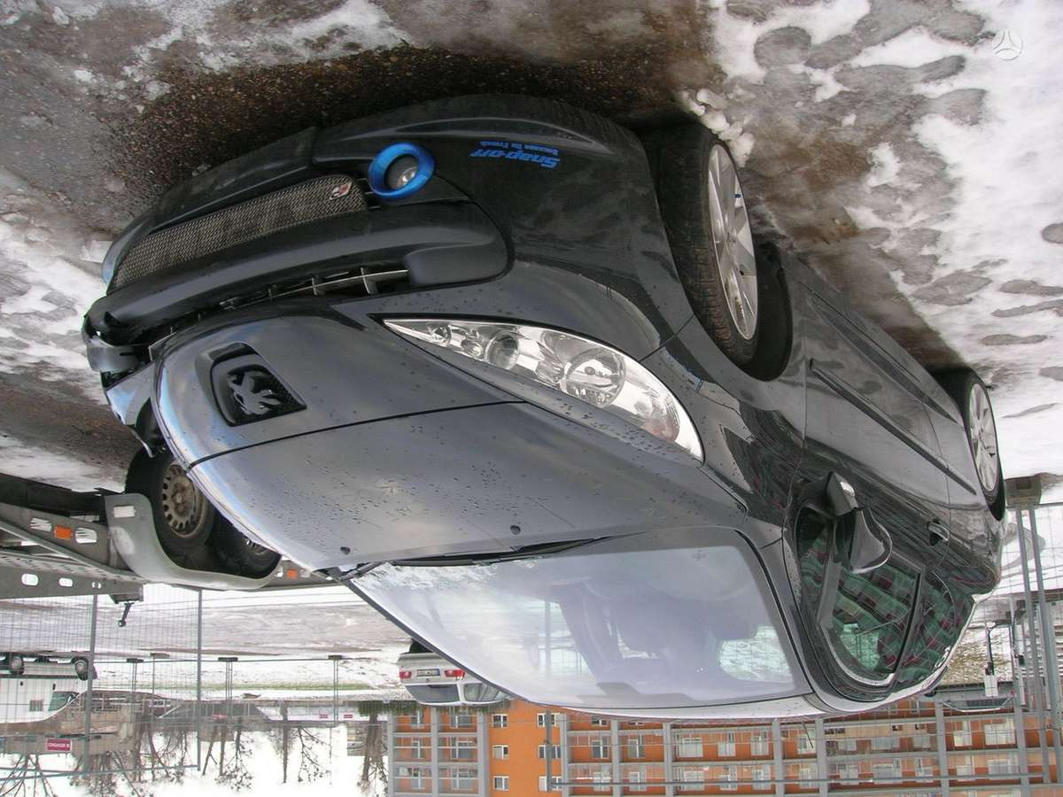 Peugeot 207. 1.6 benzinas-turbo ir 1.4 benzinas