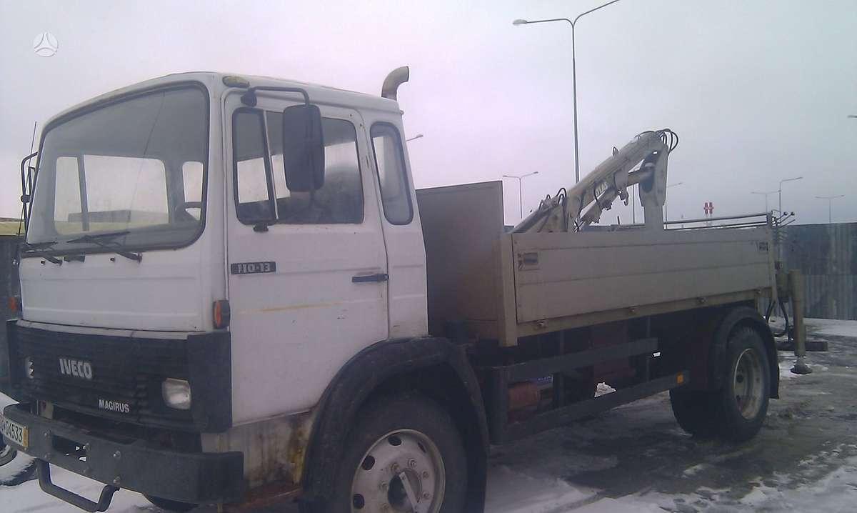 Iveco MAGIRUS 130, sunkvežimiai
