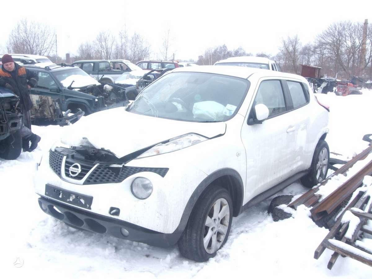 Nissan Juke dalimis. доставка бу запчастей с разтаможкой в минск