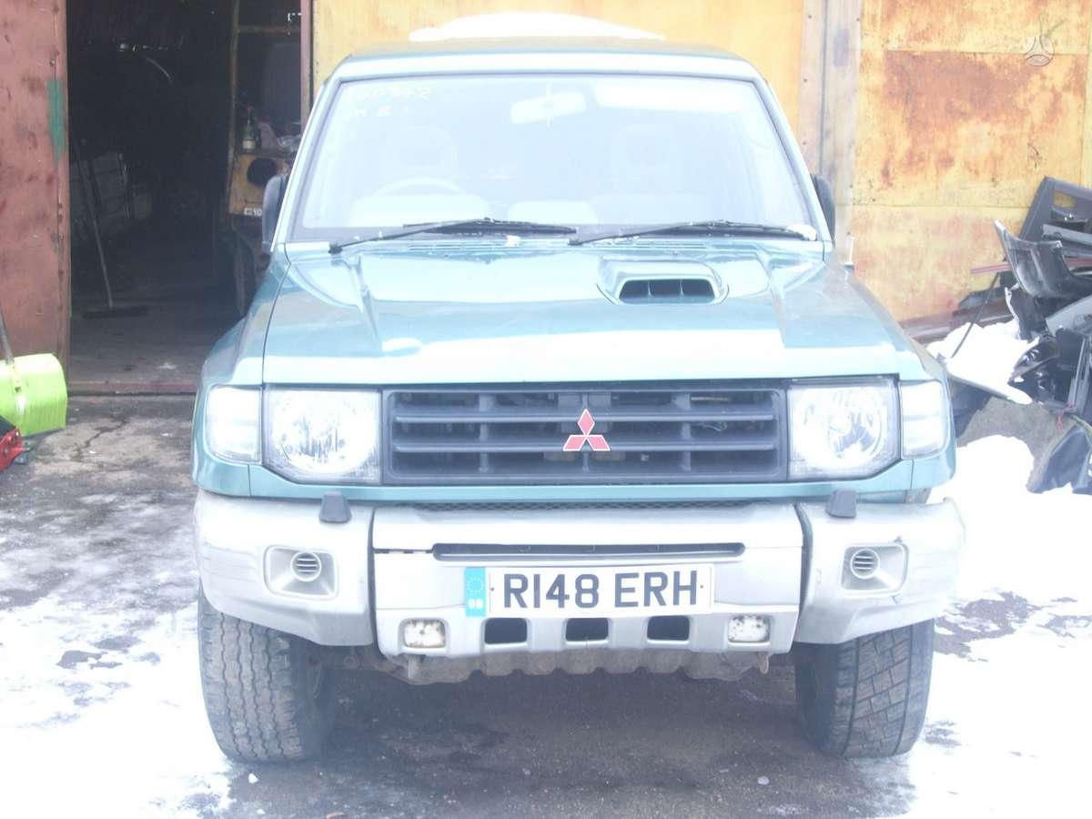 Mitsubishi Pajero. доставка бу запчастей с разтаможкой в минск (р