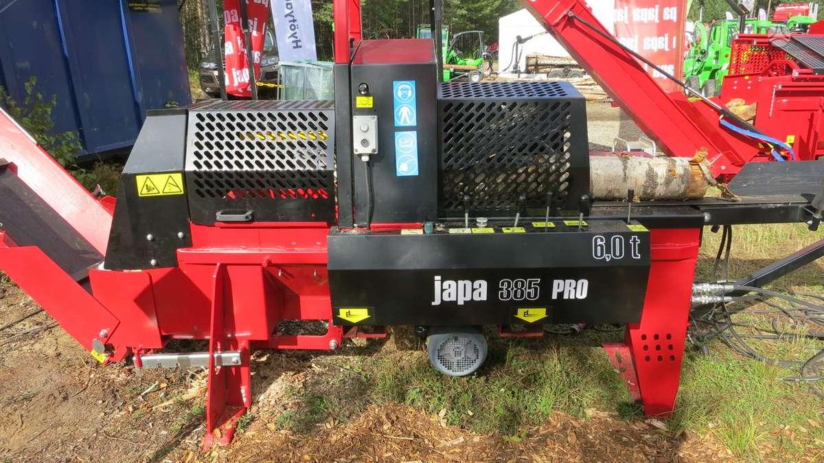 Japa, JAPA 385, smulkintuvai / skaldyklės