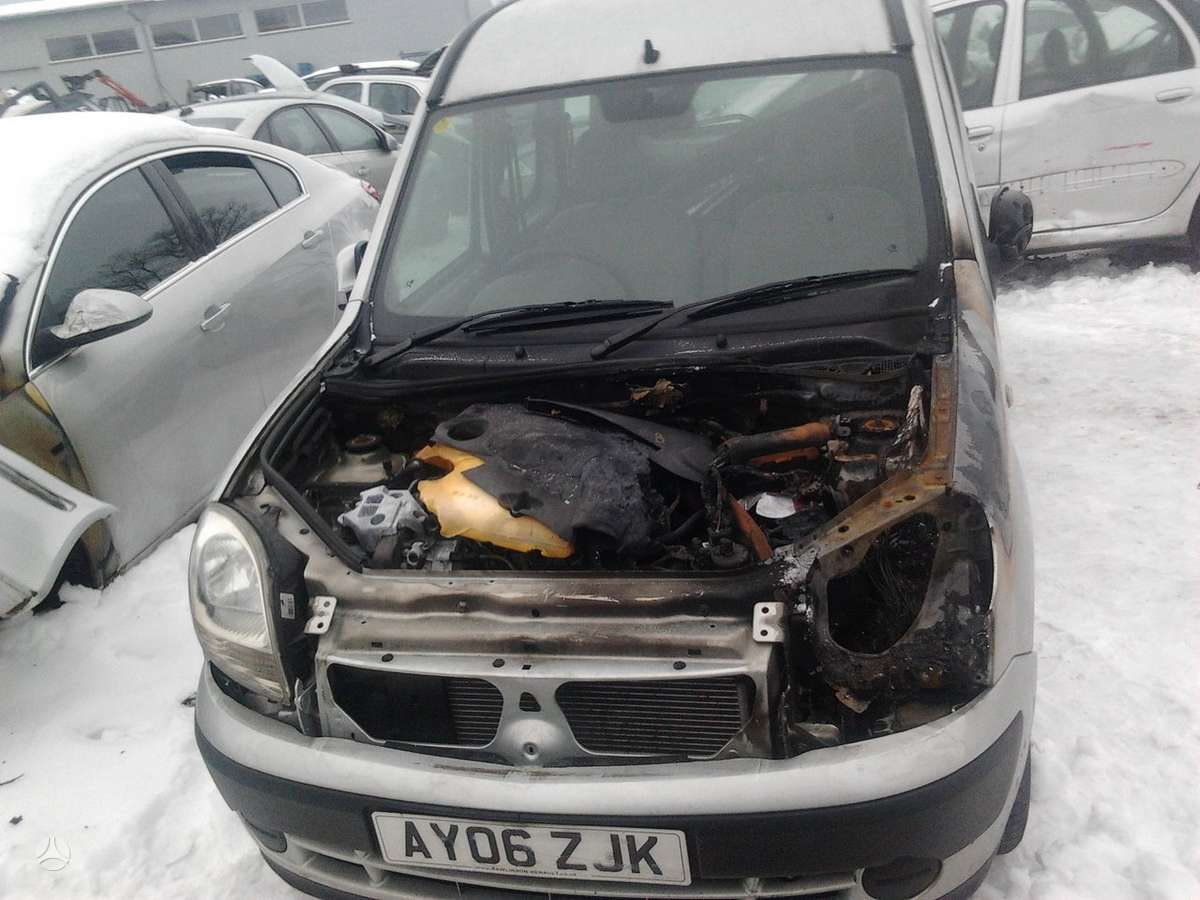 Renault Kangoo dalimis. Dalimis - renault kangoo 2006 1.5l