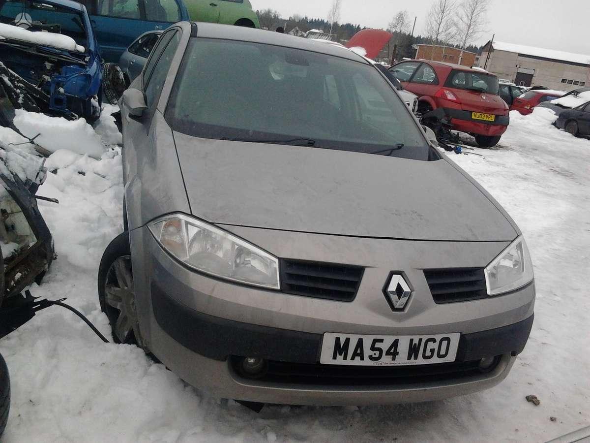 Renault Megane dalimis. Dalimis - renault megane 2004 1.4l