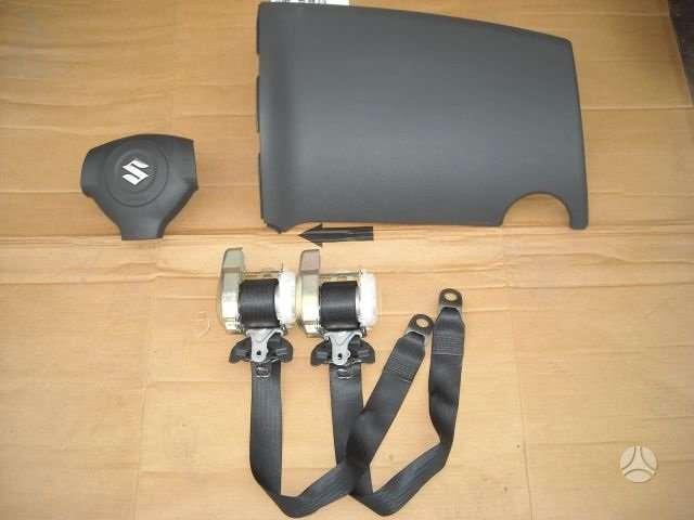 Suzuki SX4 oro pagalvės