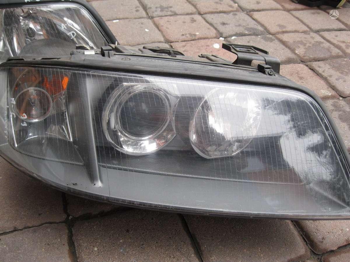 Audi A6. -gal.-  bamperis ,----- , sl.enksciu plasmases ,   - ,