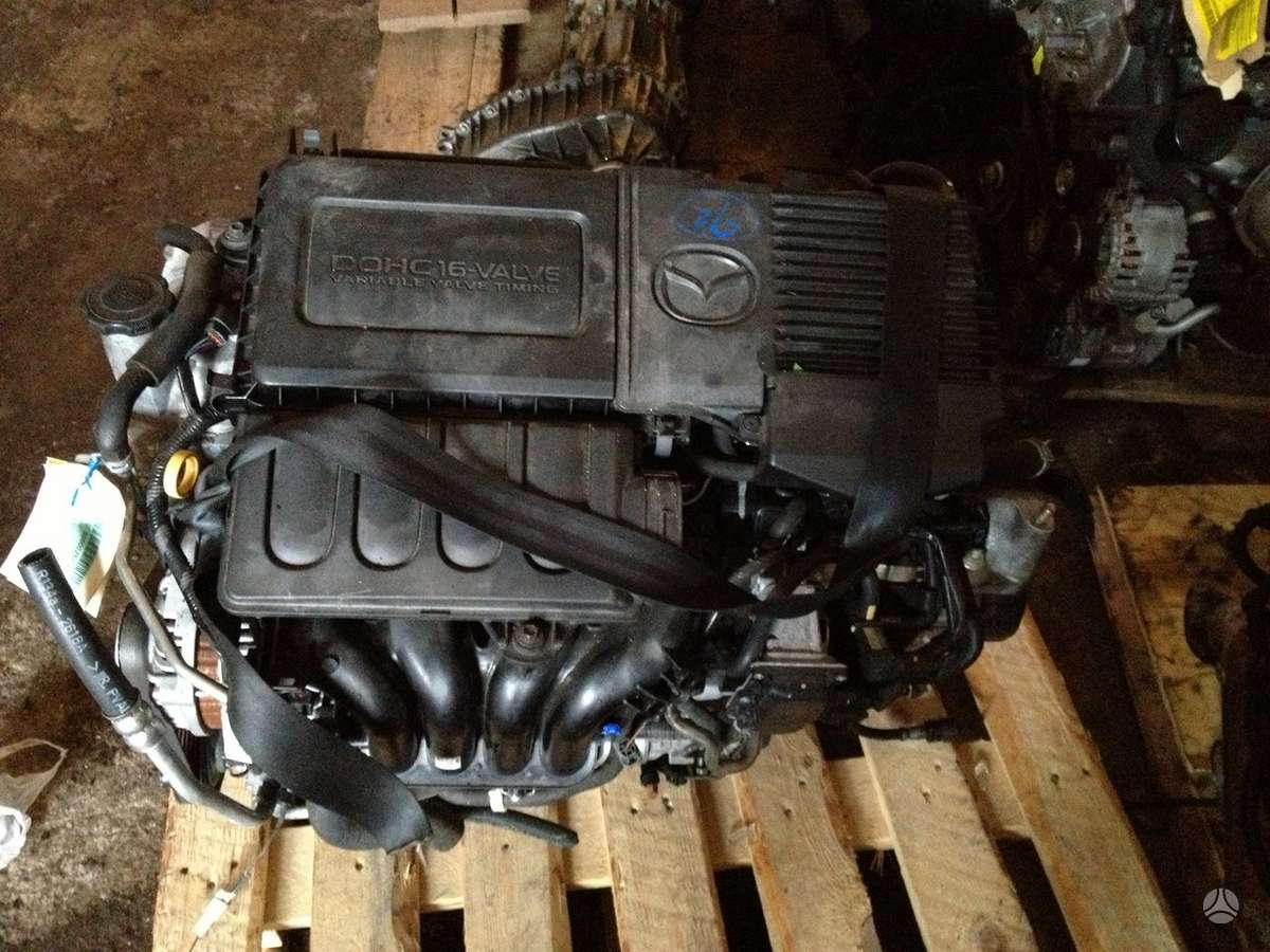 Mazda 2. tiktai variklis ir deze (automatine ir mechanine)