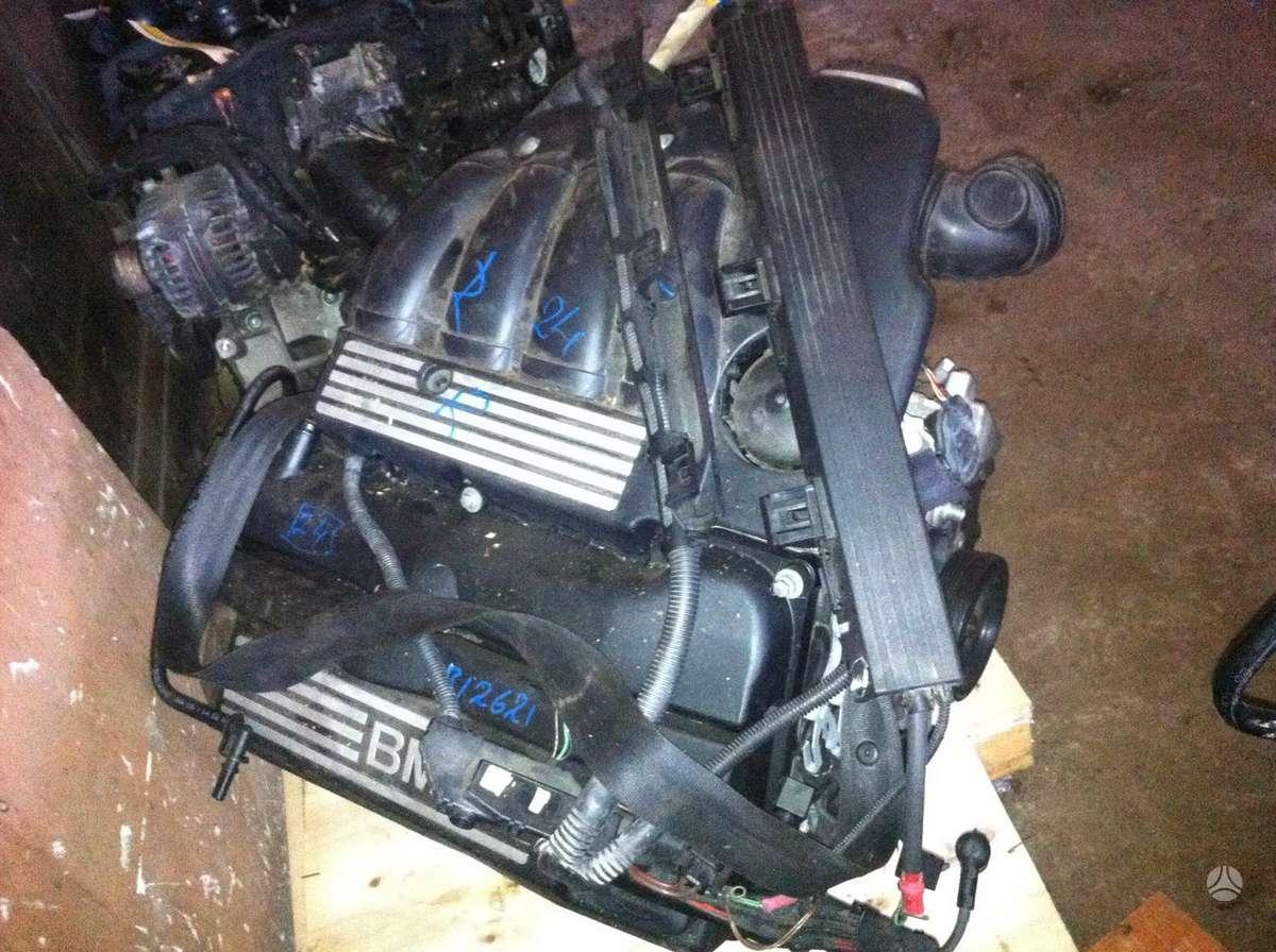 BMW 320. N46b20b variklio kodas . tiktai variklis. tolko polnij
