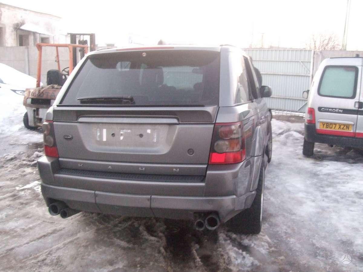 Land Rover Range Rover Sport. доставка бу запчастей с разтаможкой