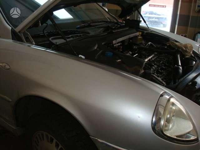 Lancia Thesis dalimis. Variklis 2.4jtd 20v