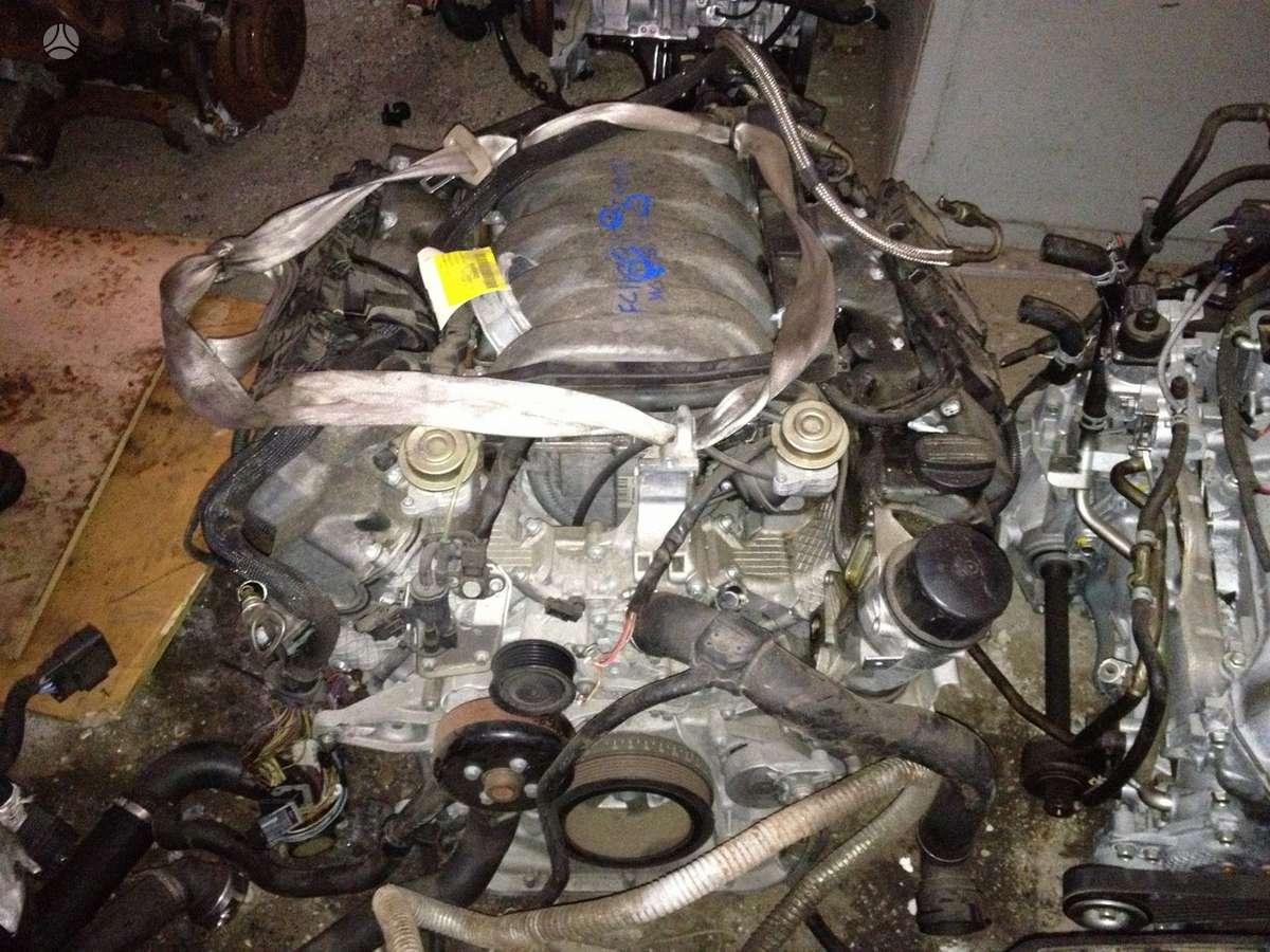 Mercedes-Benz CL500. Tiktai variklis .tolka motor 113.960 code
