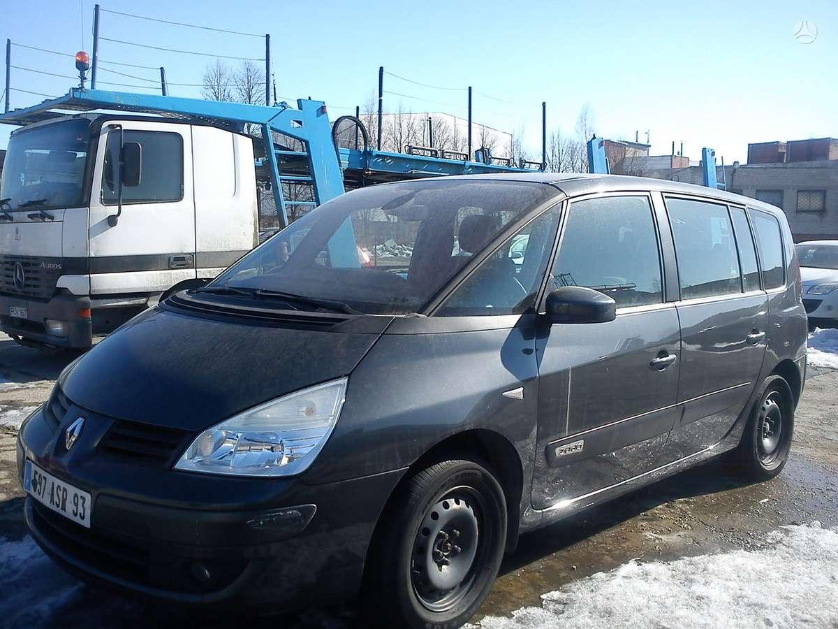 Renault Espace dalimis