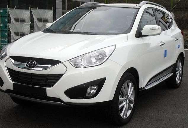Hyundai ix35. Oem slenksčiai hyundai ix35. daugiau aksesuaru: