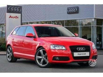 Audi A3. Naujų originalių automobilių detalių užsakymai