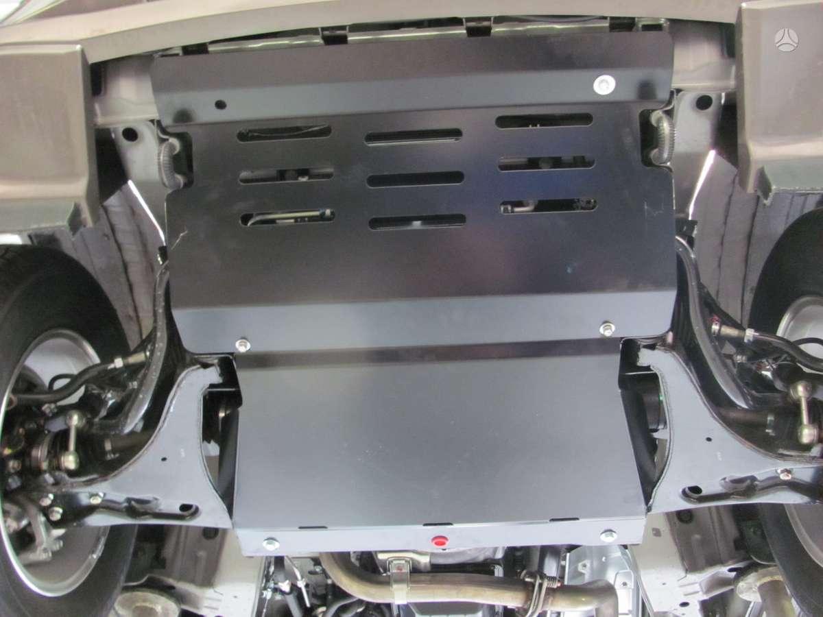 Mitsubishi Pajero. Karterio apsauga mitsubishi pajero 00-. 22.