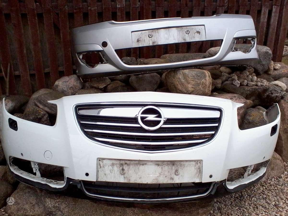 Opel Insignia. Pr.buferis, grotelės, pr.žibintai bi-xenon su