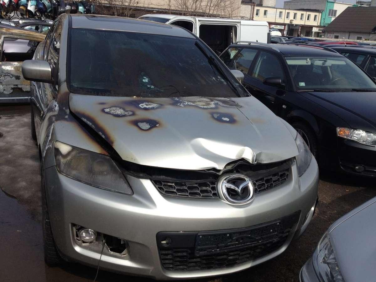 Mazda CX-7. Dalis pristatome panevėžio mieste ir visoje lietuvoje