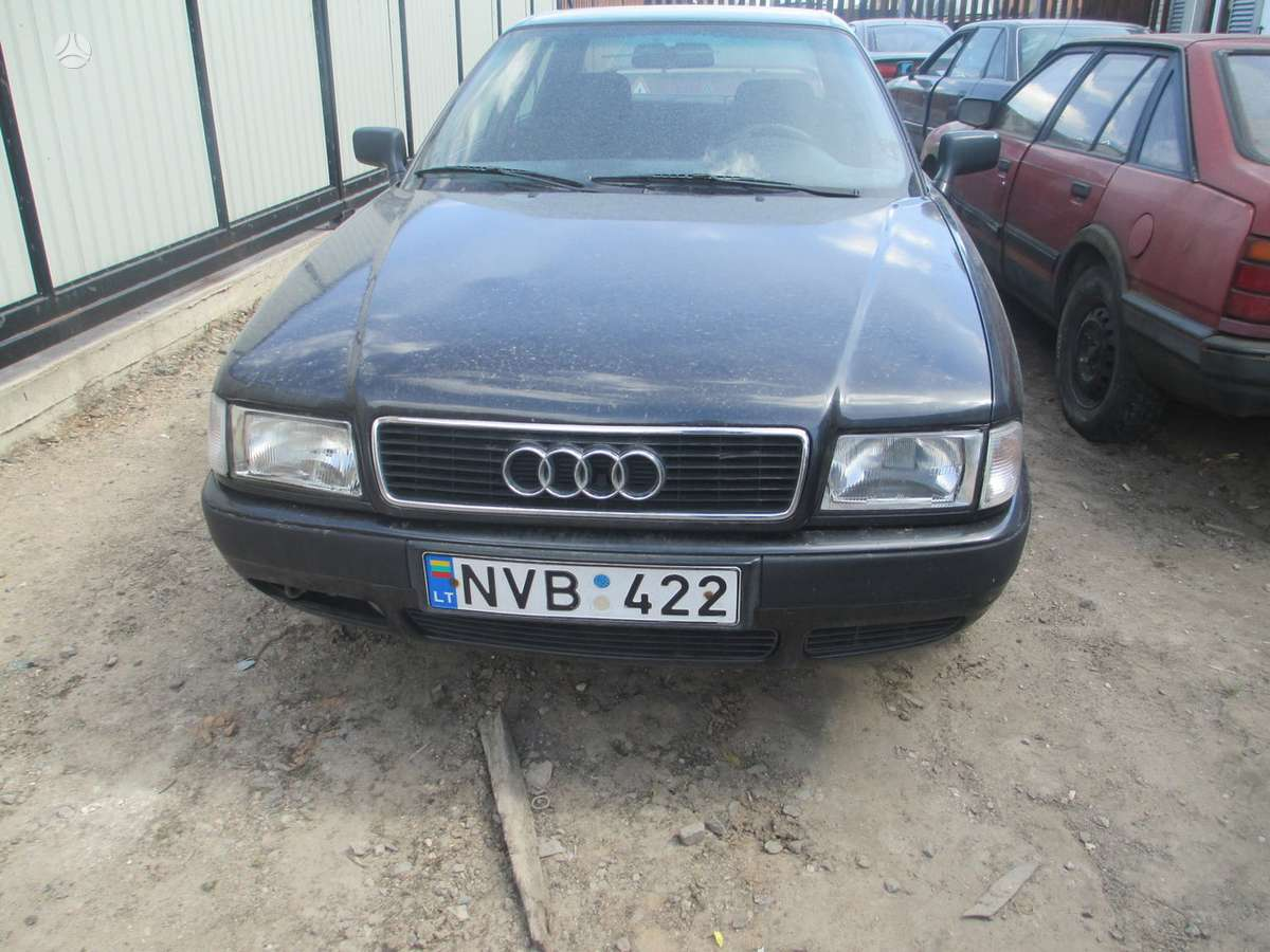 Audi 80 (B4) dalimis. Geras variklis bei deze