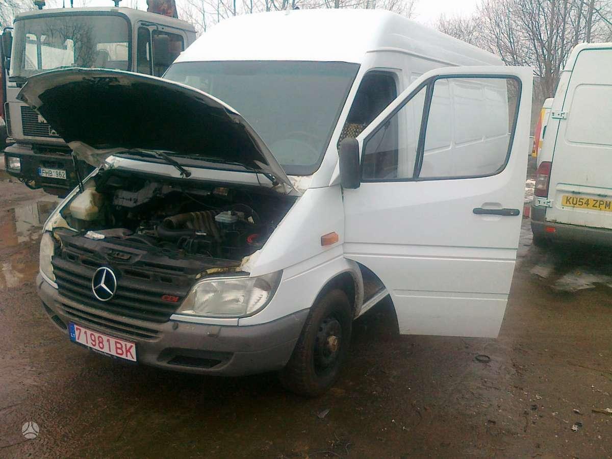 Mercedes-Benz Sprinter 316, krovininiai mikroautobusai
