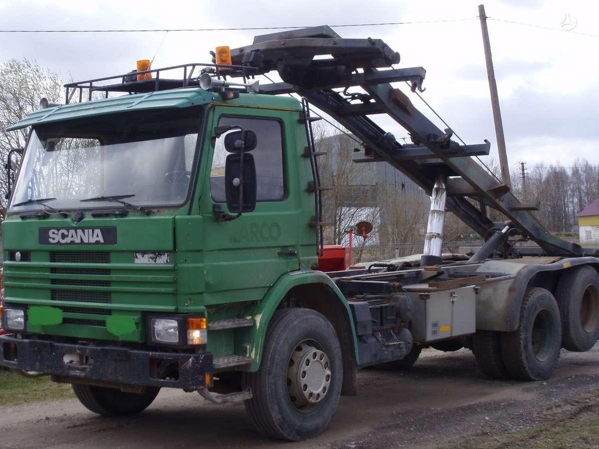 Scania 92H, sunkvežimiai