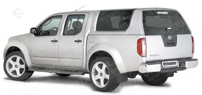 Nissan Navara. Plastikinis hardtopas roadranger rh2 nissan