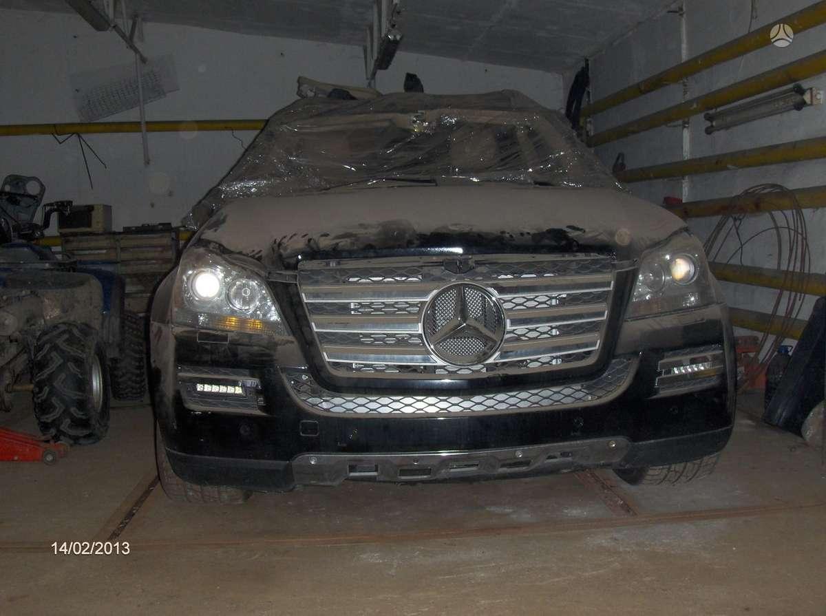 Mercedes-Benz GL55 AMG dalimis. Www. autolauzynas. lt prekyba