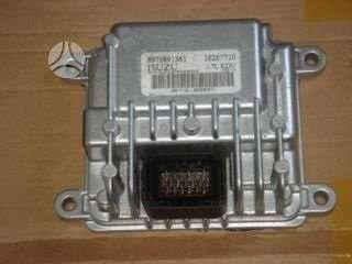 Opel Meriva kompiuteris