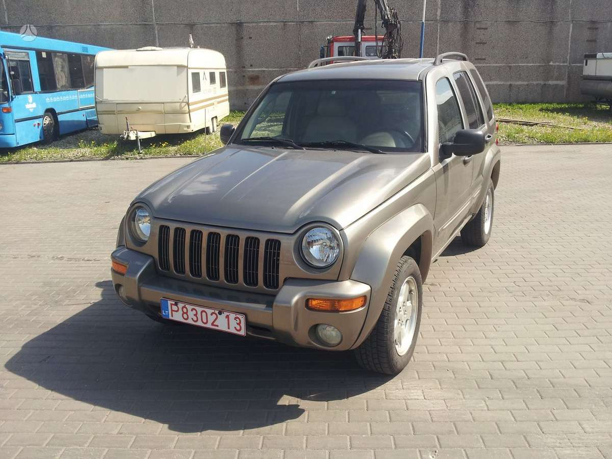 Jeep Liberty, 3.7 l., visureigis