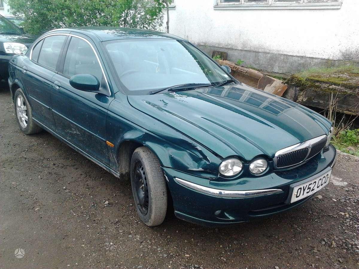 Jaguar X-Type dalimis. Automobiliu dalys - jaguar x-type 2002 2.