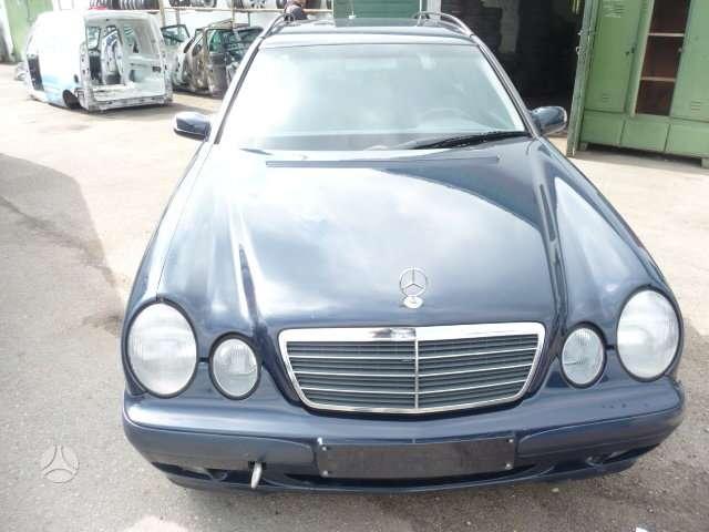 Mercedes-Benz E220. Europa. variklis - om611.961 - dalimis ,