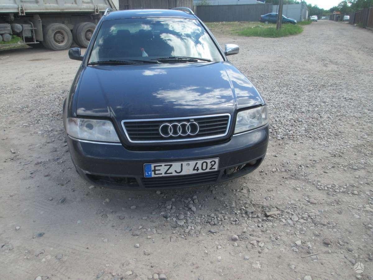 Audi A6 dalimis. 132kw 6 begiu deze,be priekaistu,yra ir daugiau
