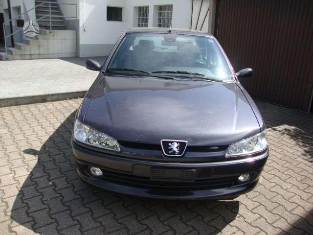 Peugeot 306. Is sveicarijos (( ch )) (( eu ))