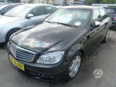 Mercedes-Benz C klasė dalimis. Www. autolauzynas. lt prekyba