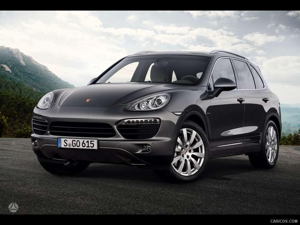 Porsche Cayenne. prekiaujame tik naujomis originaliomis