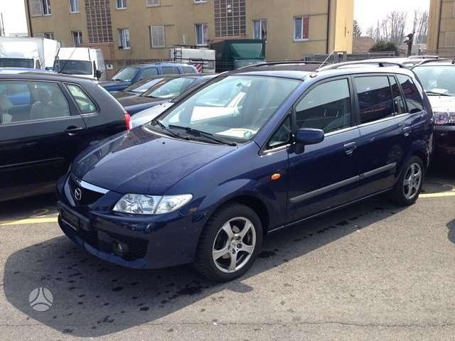 Mazda Premacy. Is sveicarijos (( ch ))  europa возможна достав