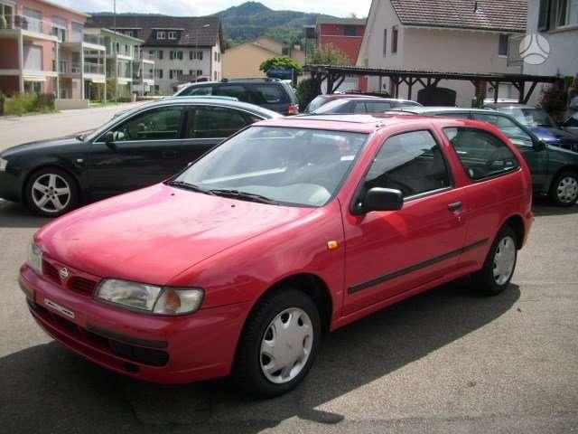 Nissan Almera. Is sveicarijos (( ch ))  +37042221115