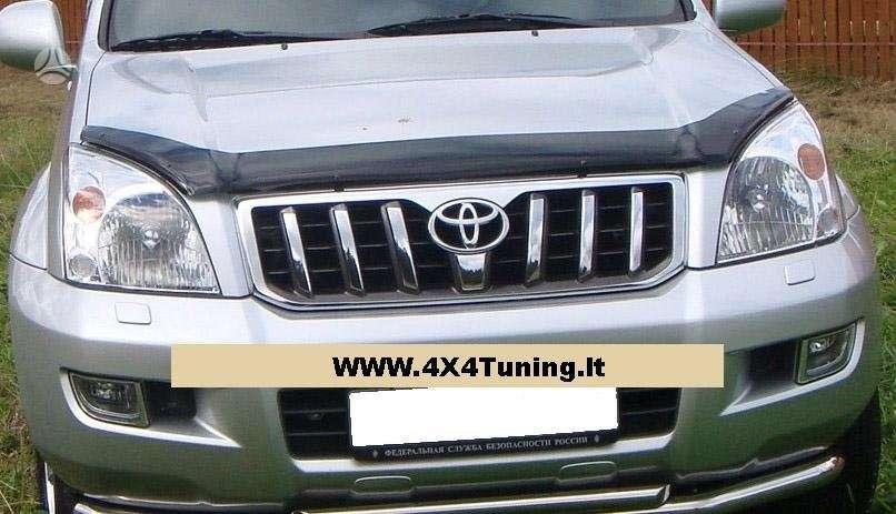 Toyota Land Cruiser. Egr kapoto deflektorius: 79 eur, toyota