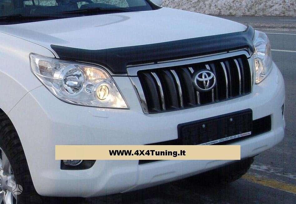 Toyota Land Cruiser. Egr kapoto deflektorius: 300 lt, toyota