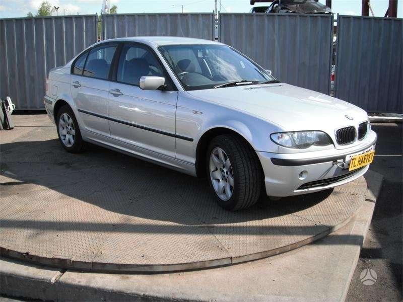BMW 318. Bmw 318 2002m. variklis n42 b20 , cd grotuvas, yra