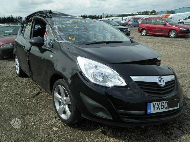 Opel Meriva. Angliskas automobilis išsiunčiam auto detales į