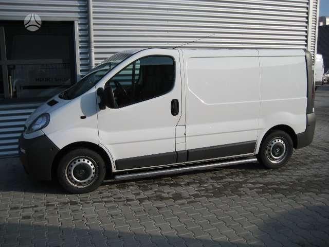Opel VIVARO, krovininiai mikroautobusai
