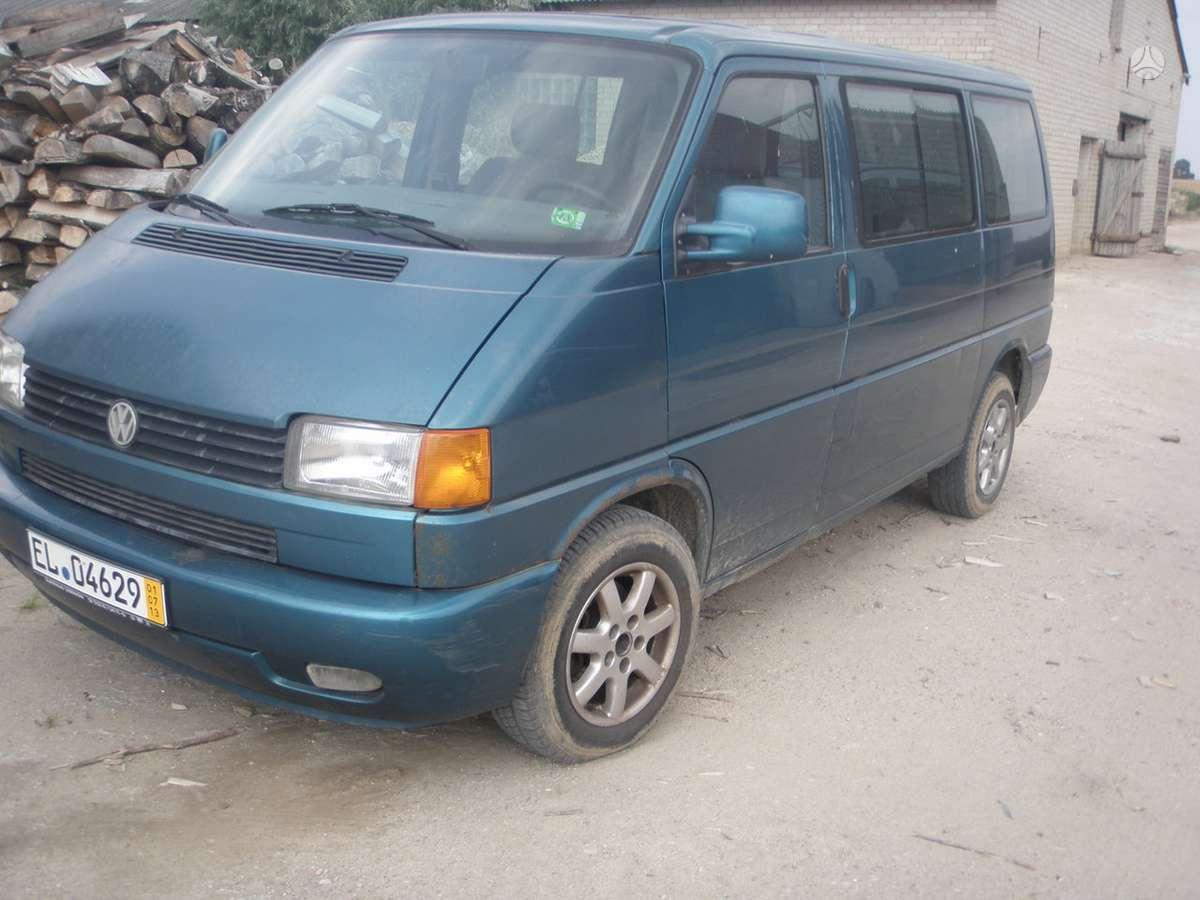 Volkswagen Multivan. Naudotos autodalys. :  darbo laikas: