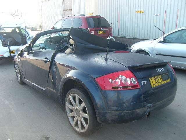 Audi TT. 6 begiai 4x4 var. raides ary gr.d. raides fmt