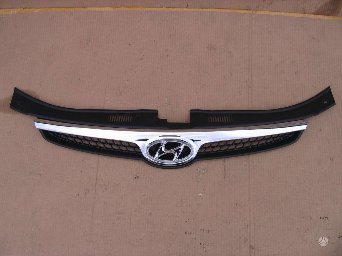 Hyundai i30. žibintas l juodas, grotelė buferį, veidrodis l