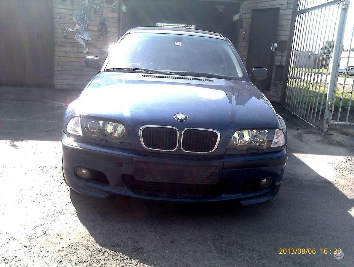 BMW 320. Dalimis!