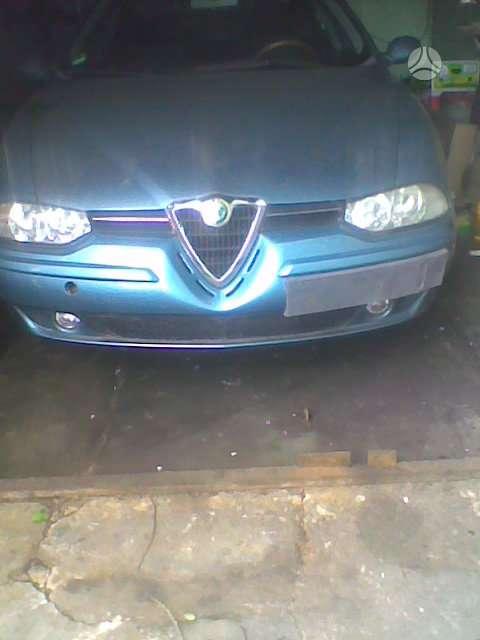 Alfa Romeo 156. Kondicionierius, lieti ratai. r 15 variklio