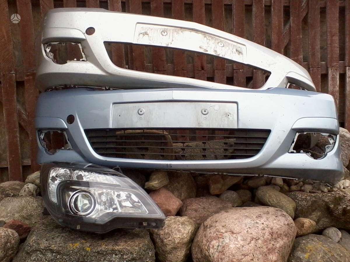 Opel Meriva. Pr.gal.buferiai,pr.kapotas, sparnai, opc buferis,